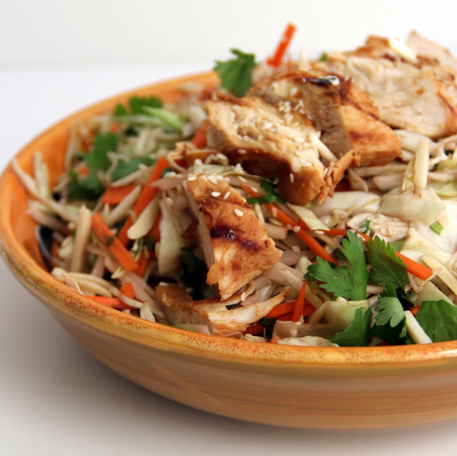 Chicken Sesame Salad - Unislim