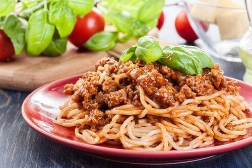 bolognese, spaghetti bolognese, healthy food