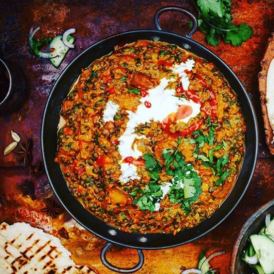 Lentil & Butternut Squash Curry