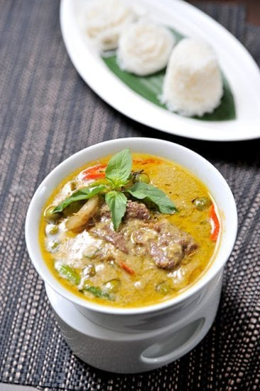 healthy eating thai beef green curry weight loss recipe