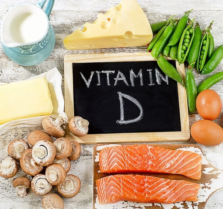 Food which Vitamin D can be found in